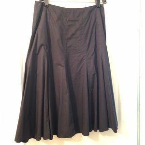 GAP Full Black Midi Skirt
